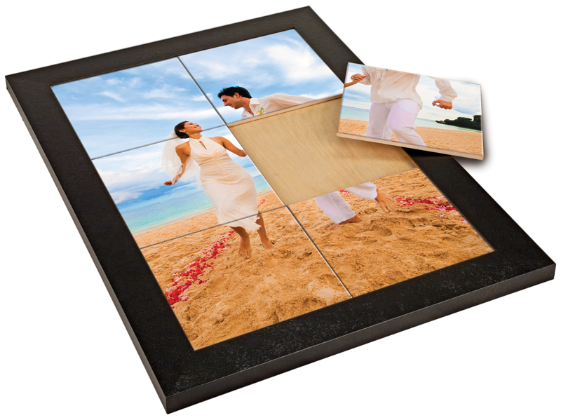 blalck frame 12 x 12 holds 1 single 12 x 12 tile sublimatable tiles sublimatable tiles. Black Bedroom Furniture Sets. Home Design Ideas